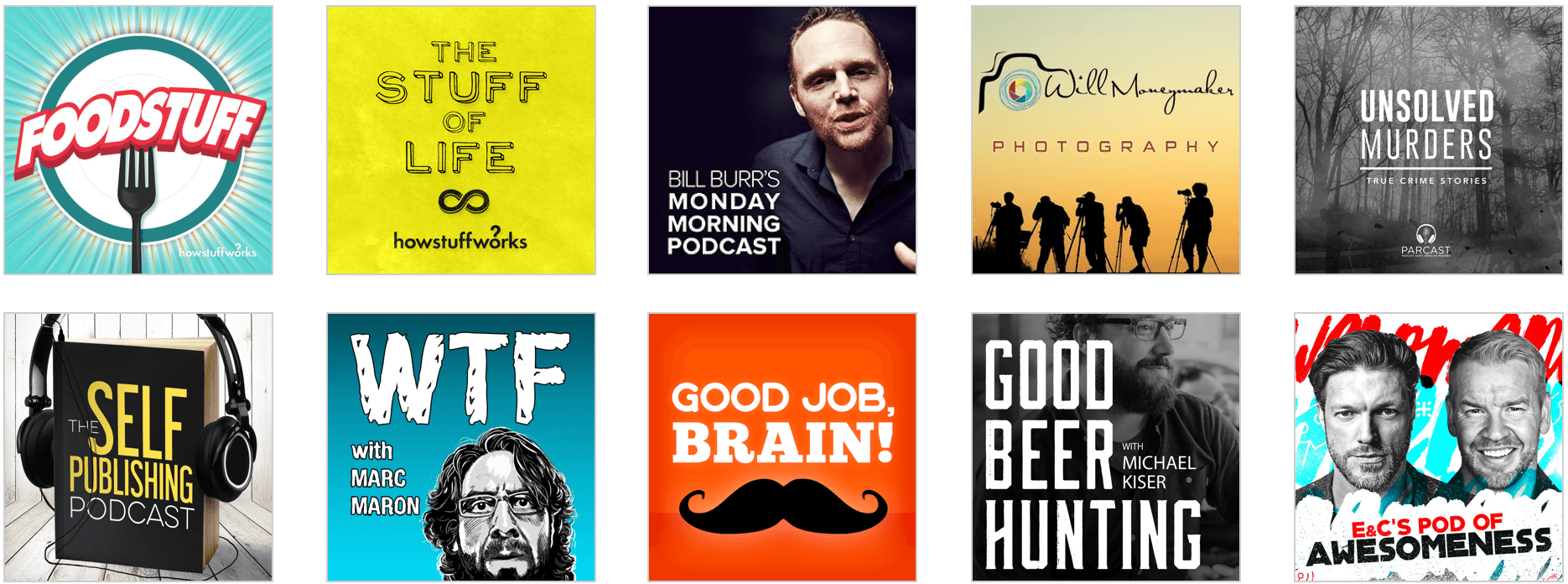Great examples podcast artwork