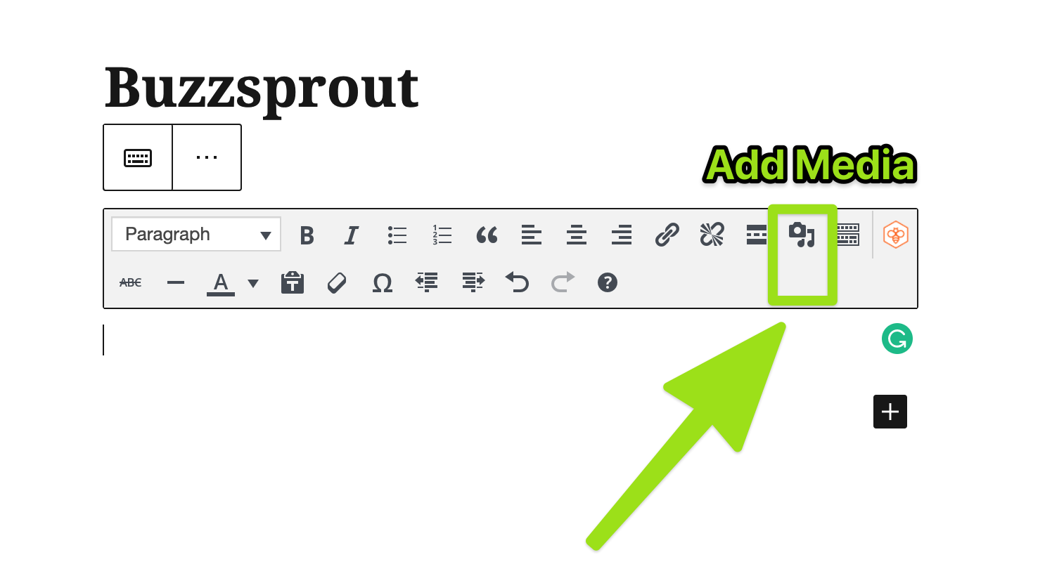 Buzzsprout WordPress Plugin Setup Step 3